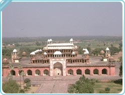 Gateways of Akbar Tomb